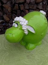 BR320 Schaf Figur lustig (mit Farbwunsch) Deko Garten Tier Werbe Figur