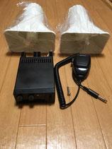 拡声器セット(アンプ・マイク・スピーカー2個)