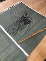 Baumwolljersey - Swafing - Wild Tiger by Thorsten Berger - Zebra auf Dusty Mint