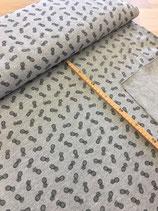 Pique Print Pineapple grey