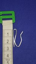 Prikhaak 2.5 cm hoog, 1.5 cm breed