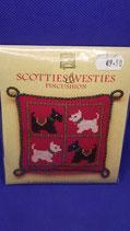 Scotties & Westies borduur tel pakket