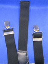 Bretels met clips Marine volwassen