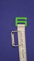 Metalen Gesp zilver      3 cm