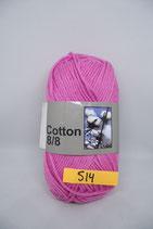 Cotton 8-8 col.514 roze