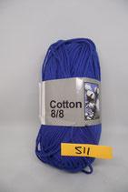 Cotton 8-8 col.511 koningsblauw
