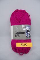 Cotton 8-8 col.525 fuchia