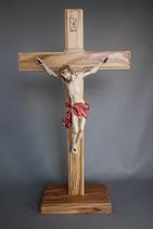 イタリア 卓上十字架 LALCL197-C 白木レッド 29×14.5センチ