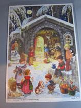 アドベントカレンダー 馬小屋と子どもたち 59080