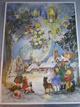アドベントカレンダー大サイズ 天使と子供たち