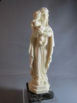 イタリア マーブル聖母子 23センチ