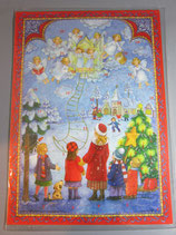 アドベントカレンダー 輝く星 天使の合唱 58639
