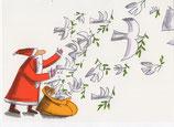 ユニセフ グリーティングカード サンタ