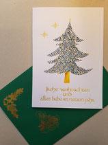 """Weihnachtskarte """"O Tannenbaum"""""""