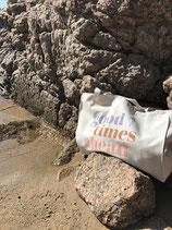 """""""Good Times Ahead' Shopping Bag (GROß)"""