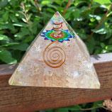 Orgon-Flow-Pyramide Rosenquarz