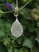 Amulett Blume des Lebens 35mmx21mm