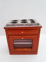 Pine & Grey Kitchen Oven