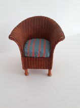 Resin Brown Wicker Chair