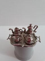 5 Piece Vintage Silver Tea Set