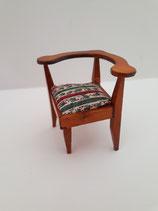 Teak Corner Chair