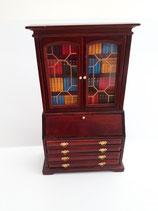 Mahogany Bookcase/Bureau