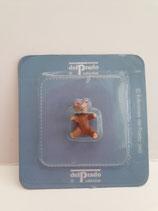 Vintage Del Prado Small Brown Resin Teddy Bear