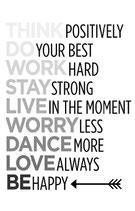 Think positiv....