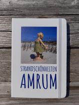 """Notizbuch """"Strandschönheiten Amrum"""""""