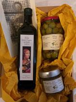 Geschenkpaket Olive