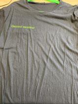 T-shirt met bedrijfs opdruk