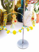 Créoles ananas grand modèle