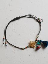 Bracelet fil gris cactus