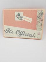 Hochzeitskarte: It's official