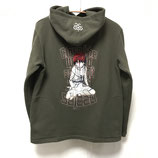 【messa store】serial experiments lain 刺繍パーカー-KHAKI-(限定30着)