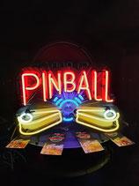 Pinball Neon Werbung Leuchtschild Neonreklame Licht Spielhalle Flipper