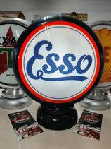 Esso Globe/Lampe Tankstellen Tanksäulen Deko Reklame Oldtimer Halle