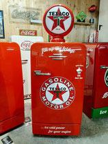 Bosch Retro Kühlschrank KSL Texaco Motor Oil USA Amerika Design wie Neu