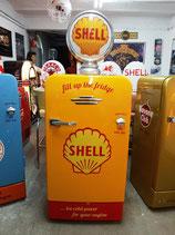 Shell Design Retro-Kühlschrank im Oldstyle 50er Jahre  Original Shell Ton