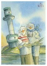 20-08 Kuscheln am Leuchtturm Tiessenkai