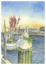 21-01 Kuscheln am Hafen