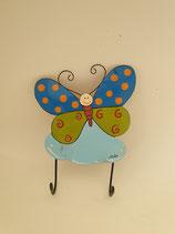 Haken Butterfly mit zwei Aufhängern