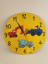 Uhr Baustelle
