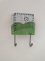 Haken Fussballtor mit zwei Aufhängern