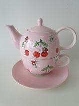 Tea for One Sweet Cherries