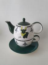 Tea for One Gustav weiss grün
