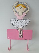 Haken Ballerina Arme hoch
