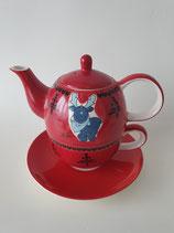 Tea for One Gustav blau