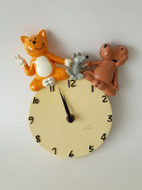 Uhr Oommh mit Hund