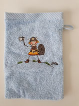 Waschhandschuh Wikinger